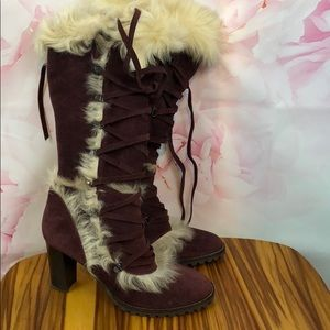 Coach 9 boots